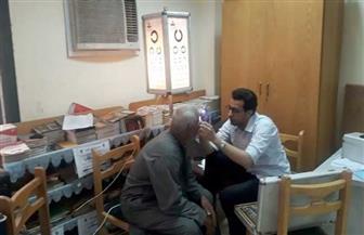 الكشف على 300 مواطن في قافلة طبية للعيون بقرية كتامة في مركز بسيون | صور