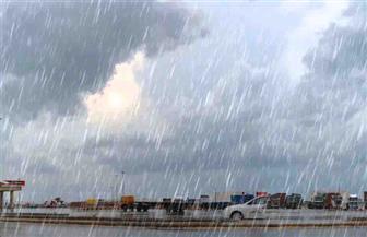 سقوط أمطار غزيرة وطقس سيئ يضرب شمال سيناء