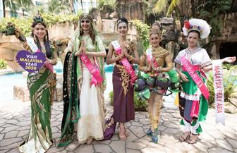 ماليزيا تنظم مسابقة ملكة جمال السياحة  صور