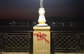 رئيس مدينة الأقصر: ضبط صاحب واقعة تشويه كورنيش النيل بعد تطويره