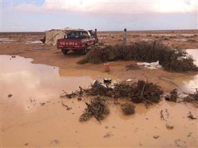 يخافها مواطنو الحضر وينتظرها بدو الصحراء.. كيف يستفيد أهالي مطروح من الأمطار والسيول؟ | صور