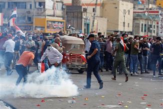 قتيلان و90 مصابا مع استئناف موجة الاحتجاجات في بغداد| صور
