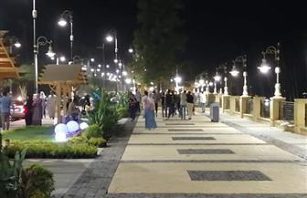 تطوير كورنيش النيل يجذب مواطني الأقصر | صور