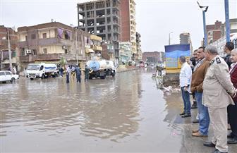 لم تهدا منذ الأمس.. الأمطار تغرق شوارع البحيرة والمحافظة تعلن الطوارئ | صور