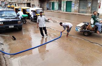 محافظ الشرقية يتابع أعمال شفط مياه الأمطار وإزالة آثاره من الطرق العامة |صور