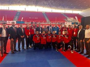 ذهبية و 4 برونزيات اليوم تضع  مصر على قمة جدول ميداليات بطولة العالم لناشئي الكاراتيه