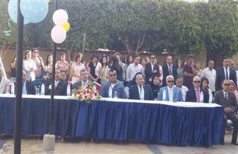 سكرتير عام أسيوط يشهد حفل تكريم الطلاب المتفوقين بمدارس السلام|صور