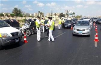 تحرير 620 مخالفة مرورية في حملة على الطرق بالغربية