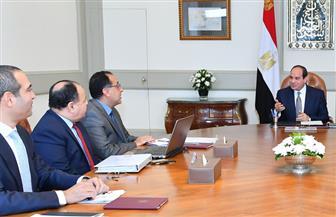 تفاصيل اجتماع الرئيس السيسي برئيس الوزراء ووزيري التخطيط والمالية ومدير صندوق مصر السيادي|فيديو