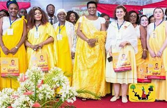 """سفيرة مصر لدى بوروندي تشارك في مؤتمر """"القادة من السيدات"""" في بوجمبورا"""