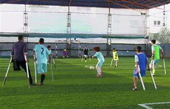 تشكيل أول فريق لكرة القدم من الشباب ذوي الاحتياجات الخاصة في غزة | فيديو