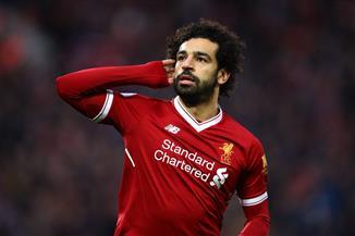 محمد صلاح يعادل رقم أسطورة ليفربول بهدفه الخمسين على أنفيلد