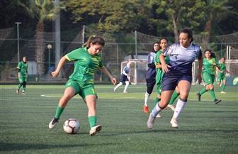 ختام الجولة الثانية بدوري كرة القدم النسائية بتعادل الطيران مع المعادى | صور