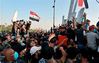 تظاهر المئات من طلاب المدارس العراقية في بغداد