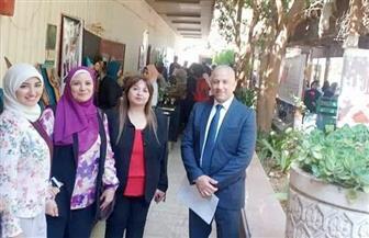 كلية التربية الفنية بجامعة حلوان تنظم ملتقى التوظيف الأول | صور
