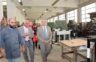 رئيس جامعة أسيوط: زيادة ساعات العمل بورش الهندسة لمضاعفة الإنتاج وتحسين دخل العاملين | صور