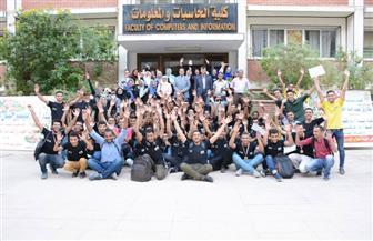 جامعة أسيوط: 24 فريقا لتمثيل جامعات الصعيد في المسابقة المصرية للبرمجيات على مستوى الجمهورية |صور