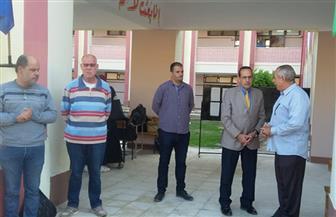 محافظ شمال سيناء يتفقد مدارس بمدينة العريش | صور