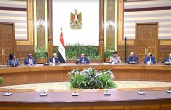 الرئيس السيسي: مصر تبذل جهودا كبيرة وواسعة النطاق لضبط حدودها ومنع تسلل العناصر الإرهابية وتهريب السلاح| صور