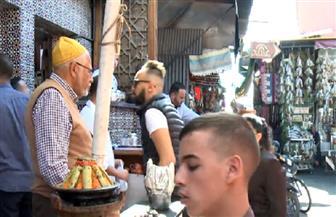 """""""طباخ الملك"""".. أعرق مطاعم الشواء في مراكش   فيديو"""
