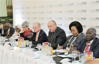 وزير الخارجية يلقي كلمة أمام اجتماع مجموعة النواة لمؤتمر ميونخ للأمن | صور