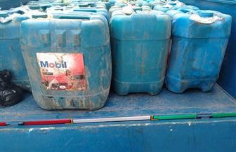 ضبط 20 ألف لتر بنزين 80 قبل بيعها فى السوق السوداء بسوهاج