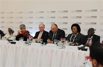 وزير الخارجية يشارك في الجلسة الافتتاحية لمجموعة النواة بمؤتمر ميونخ للأمن | صور