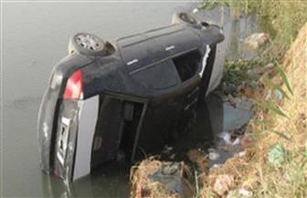 إصابة سيدة إثر انقلاب سيارتها في ترعة المريوطية