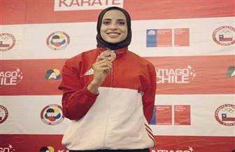 فريال أشرف تفوز بذهبية بطولة العالم لناشئي الكاراتيه