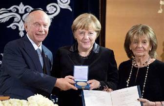 """المؤتمر اليهودي العالمي يمنح جائزة """"تيودور هرتزل"""" لميركل"""