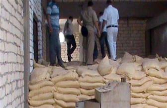 ضبط 6 أطنان أرز مجهول المصدر في حملة تموينية بسوهاج