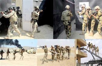 """استمرار فعاليات التدريب المصري الأردني المشترك """"العقبة - 5"""""""