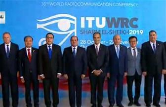 الرئيس السيسي يصل مقر انعقاد مؤتمر الاتصالات الراديوية بشرم الشيخ