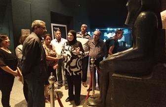رئيس قطاع المتاحف يتفقد متاحف مصر العليا | صور
