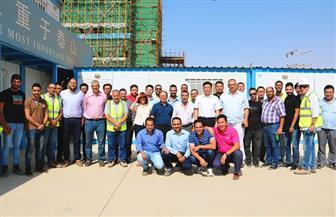 احتفالية لتوديع المهندس أحمد شعار فى العاصمة الإدارية الجديدة