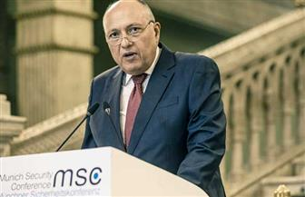 وزير الخارجية يشارك في الجلسة الختامية لاجتماع مجموعة النواة لمؤتمر ميونخ للأمن | صور