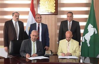 محافظ الشرقية يشهد توقيع بروتوكولي تعاون مشترك بين مديريتي الزراعة والصحة | صور
