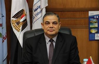 رئيس جامعة كفر الشيخ: منع دخول أي شخص إلى الحرم الجامعى دون ارتداء الكمامة