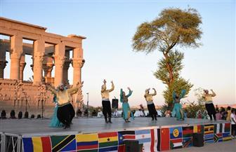 """ورش للفنان التشكيلي """"ياسر جعيصة"""" ضمن فعاليات الأفروصيني"""
