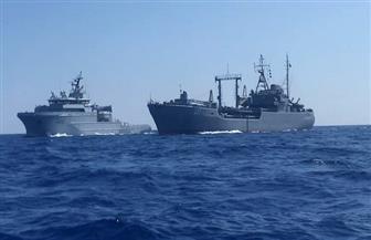 البحريتان المصرية والفرنسية تنفذان تدريبا مشتركا بالبحر الأحمر