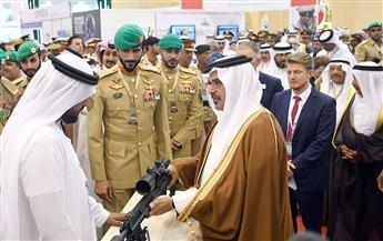 ولي عهد البحرين يفتتح أكبر معرض لتكنولوجيا الدفاع والخدمات العسكرية بالشرق الأوسط | صور