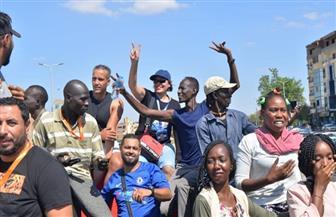 فرق الأفروصيني تجوب شوارع محافظة أسوان | صور