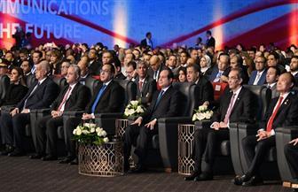 الرئيس السيسي يرحب بالمشاركين في المؤتمر العالمي للاتصالات الراديوية بمدينة شرم الشيخ | فيديو