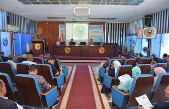 جامعة سوهاج تستعد لأسبوع الجامعات الأول | صور