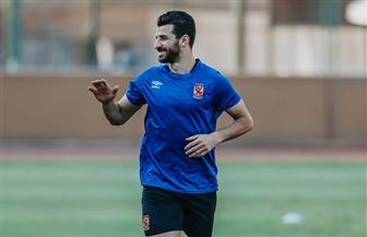محمود متولي يواصل برنامجه التأهيلي في الأهلي