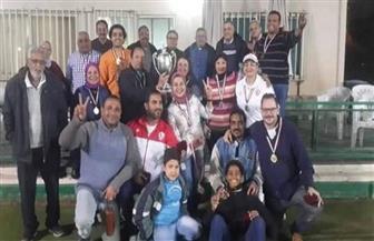 كروكيه الزمالك يهزم نادي القاهرة ببطولة كأس فردي الأندية