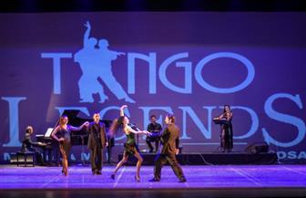 أساطير التانجو الأرجنتينية على مسرح دار أوبرا الإسكندرية  صور