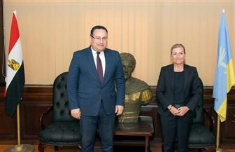 محافظ الإسكندرية يستقبل سفيرة النرويج لتدعيم العلاقات بين الجانبين |صور