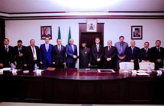 على عبد العال يلتقي نائب رئيس نيجيريا.. وأوسينباجو يشيد بالقيادة المصرية الحكيمة للاتحاد الإفريقي | صور