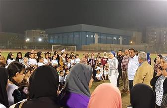 جهاز الكرة النسائية يبحث عن المواهب في الصعيد | صور
